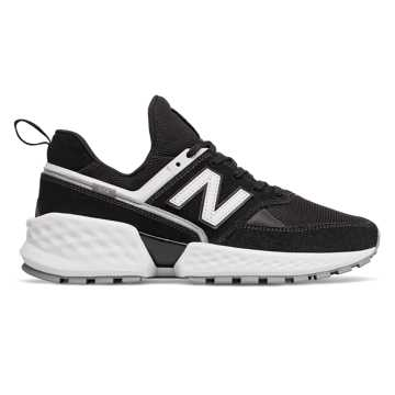 uk availability 16c6a 70f46 New Balance 574 Sport, Black with White