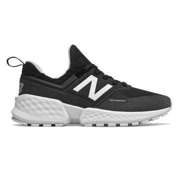 New Balance 574S V2系列男女同款复古休闲运动鞋, 黑色