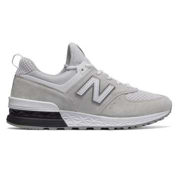New Balance 574 Sport, Arctic Fox with Black