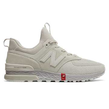 New Balance 574 Sport, Silver with Moonbeam