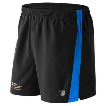 New Balance NYC Marathon Training Short, Electric Blue with Black