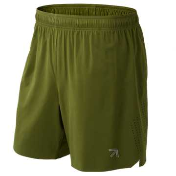New Balance J.Crew 7 Inch Shift Short, Safari