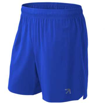 New Balance J. Crew 7 Inch Shift Short, UV Blue