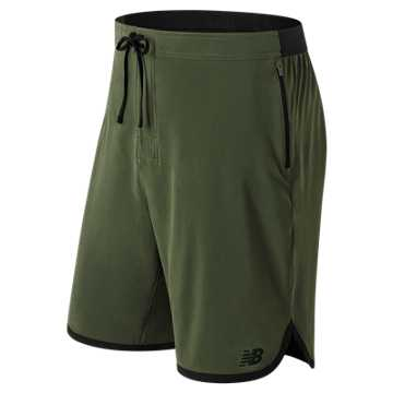 New Balance Energy Short, Dark Covert Green