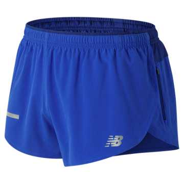 New Balance Impact Split 3 Inch Short, Pacific