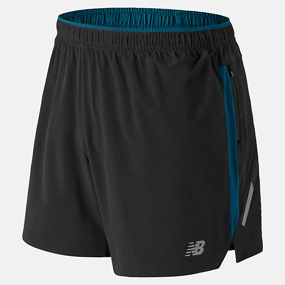 New Balance Impact 5 Inch Short, MS81263BKB