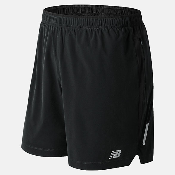 NB Impact 7 inch Shorts, MS81265BK