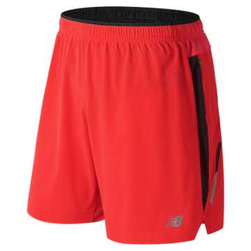 New Balance Impact 7 Inch Short, Flame