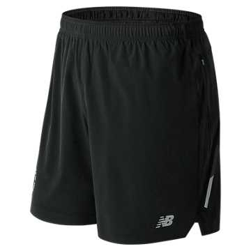 New Balance NYC Marathon Impact 7 Inch Short, Black