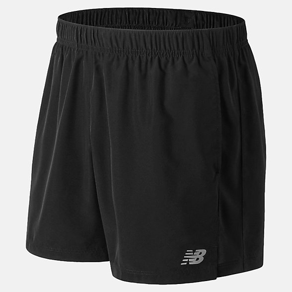 New Balance Accelerate 5 Inch Short, MS81278BK