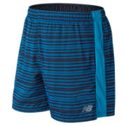NB Accelerate Graphic 5 Inch Short, Maldives Blue