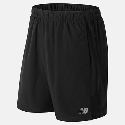 New Balance Accelerate 7 Inch Short, MS81281BK image number null