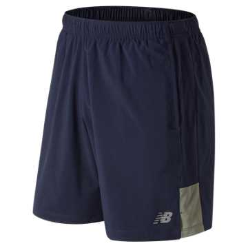 New Balance Accelerate 7 Inch Short, Mineral Green