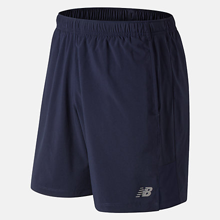 New Balance Accelerate 7 Inch Short, MS81281PGM image number null