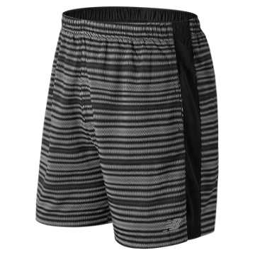 New Balance Accelerate Graphic 7 Inch Short, Black Multi