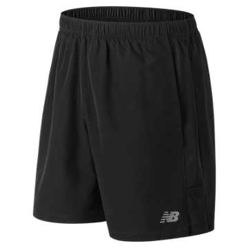 New Balance Accelerate 7 Inch Short - No Liner, Black