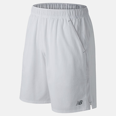 New Balance 9 Inch Rally Short, MS81412WT image number null