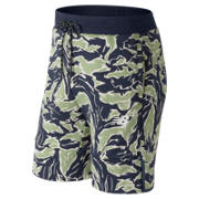 New Balance NB Athletics Short, Camo Green
