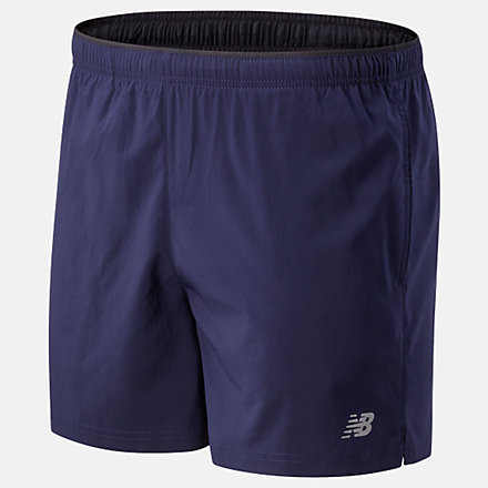 NB Core 5 Inch Woven Short, MS81954PGM image number null