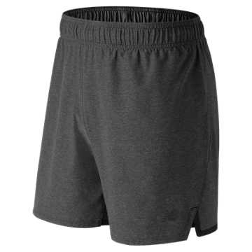 New Balance Shift Short, Heather Charcoal