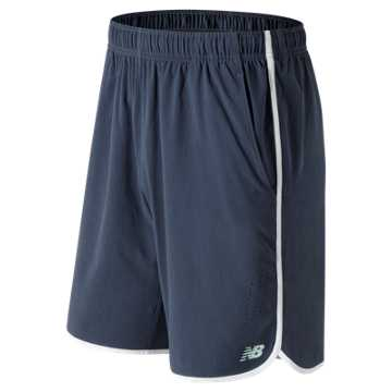 New Balance 9 Inch Tournament Short, Navy