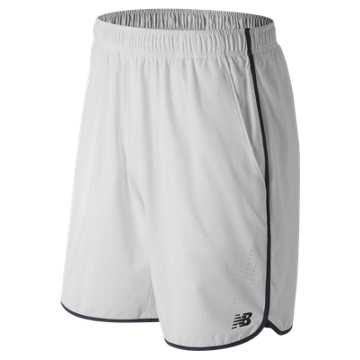 New Balance 9 Inch Tournament Short, White