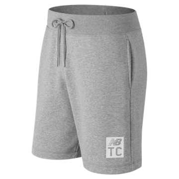 New Balance Essentials NB Track Club Short, Athletic Grey