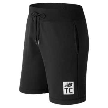 New Balance Essentials NB Track Club Short, Black