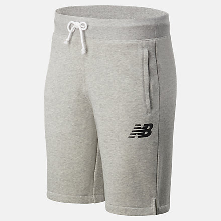 NB Core 10 Inch Fleece Short, MS83986AG image number null