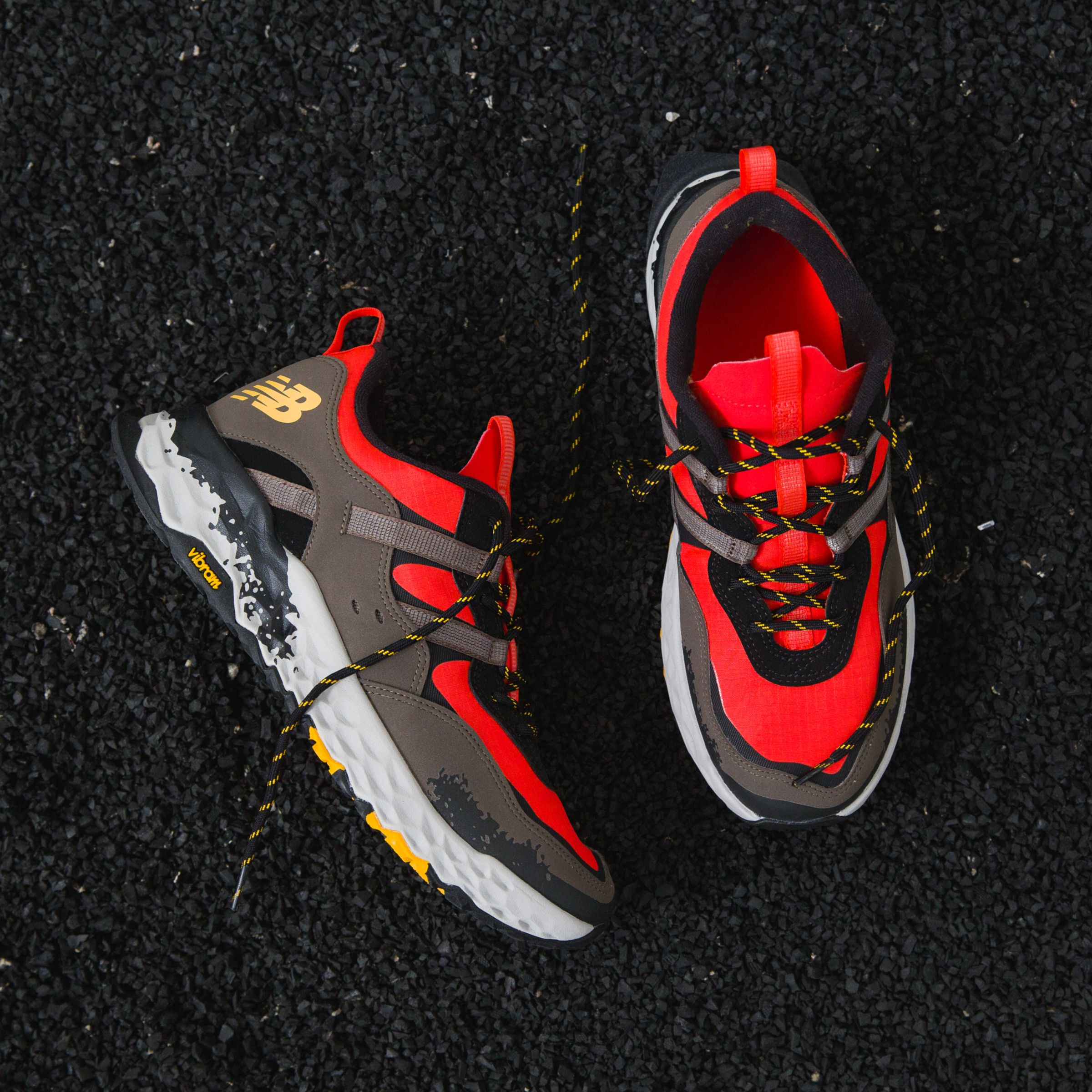 all red new balance 850