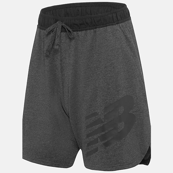New Balance NB Warm Up Short, MS91016BKH