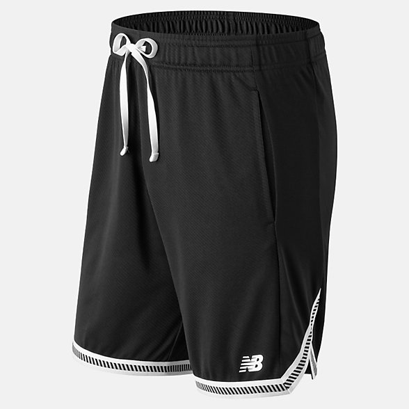 New Balance Tenacity Knit Short, MS91092BK
