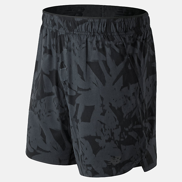 NB Printed 7 inch 2 in 1 Shorts, MS91151BM