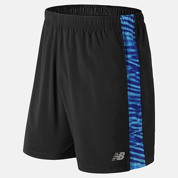 New Balance Printed Accelerate 7 Inch  Short, MS91182LCT