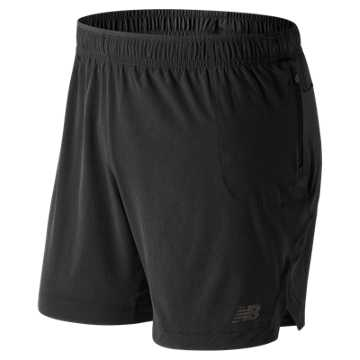 New Balance Q Speed Breathe Short, Black