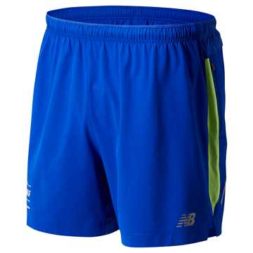 New Balance Brooklyn Half Impact Short 5 Inch, UV Blue