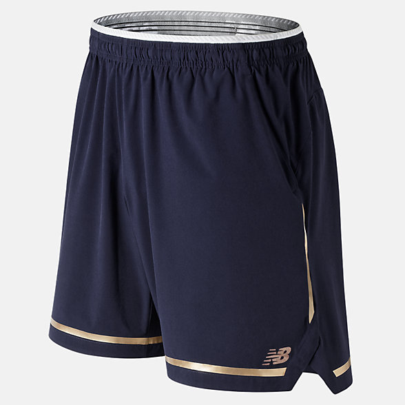 New Balance 7 Inch Tournament Short, MS91404PGM
