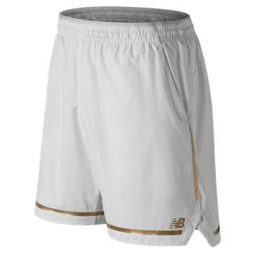 New Balance 7 Inch Tournament Short, White