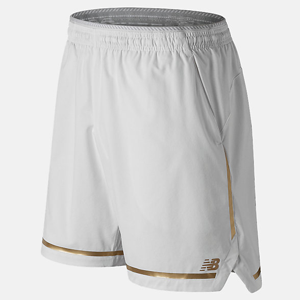 New Balance 7 Inch Tournament Short, MS91404WT
