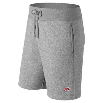 New Balance Essentials Legacy Short, Athletic Grey