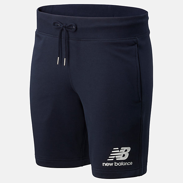 New Balance Essentials Stacked Logo Short, MS91584ECL