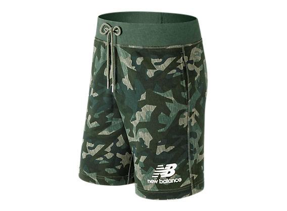 Pantalones Cortos Essentials Stacekd Logo shorts MS91584 - New Balance 88131fad1467
