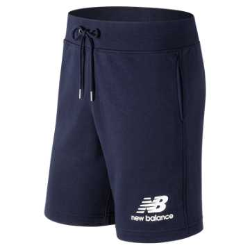 New Balance Essentials Stacked Logo Short, Pigment