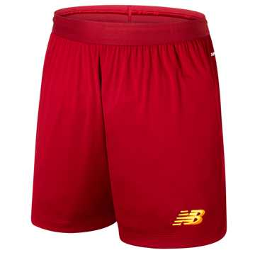 New Balance Liverpool FC Home Short, Red Pepper with Gold