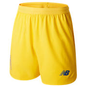 NB FC Porto Away Short, Yellow with Lapis Blue