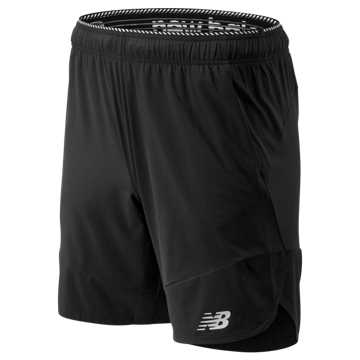 New Balance R.W.T. Woven Short, Black