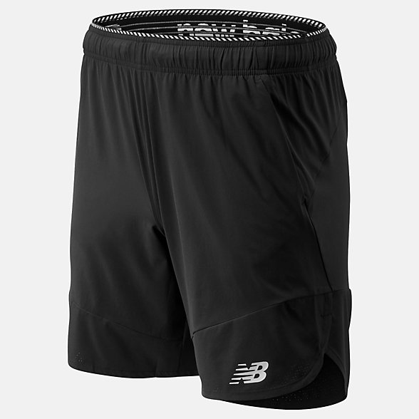 New Balance Short tissé R.W.T., MS93052BK