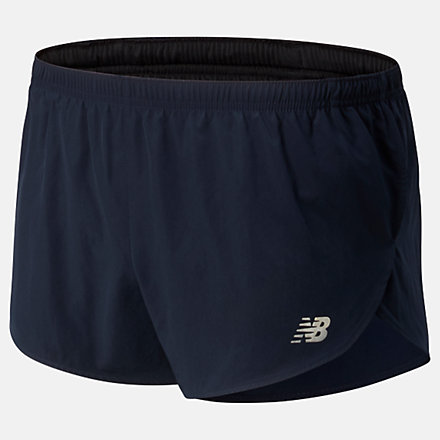 New Balance Short fendu Accelerate 8 cm, MS93186ECL image number null