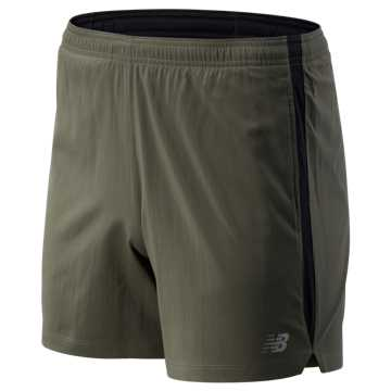 New Balance Accelerate 5 In Short, Slate Green with Black