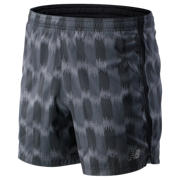 NB Printed Accelerate 5 In Short, Black